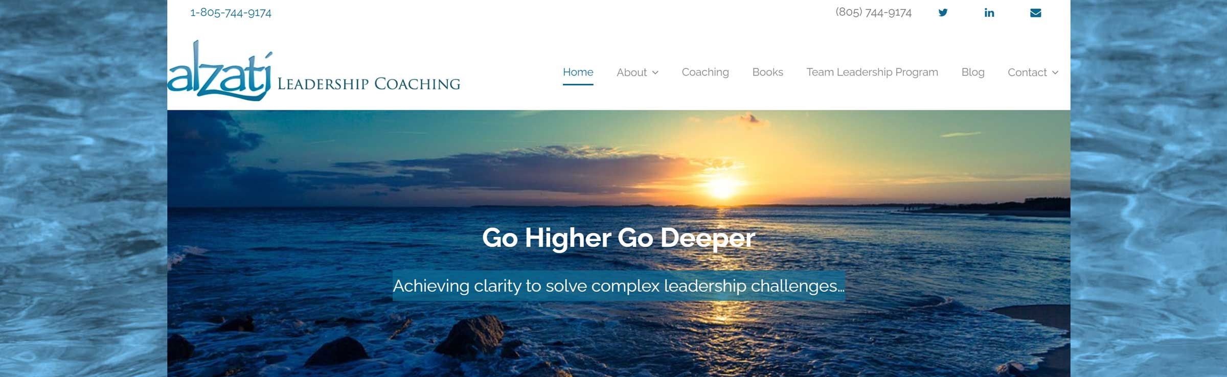 Alzati Leadership Coaching banner