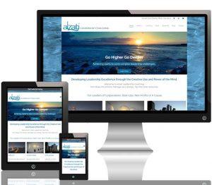 Alzati Leadership Coaching website responsive