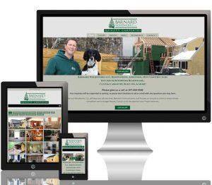 Barnard Woodworks LLC responsive website
