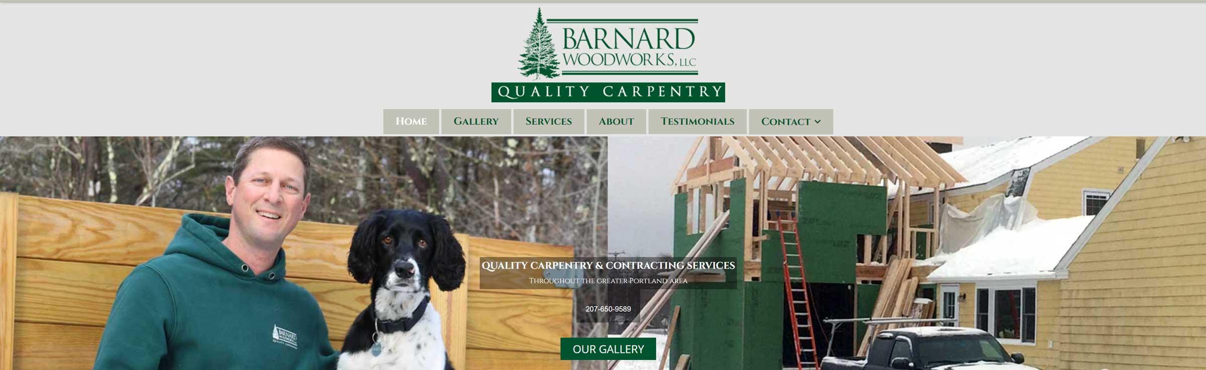 Barnard Woodworks LLC banner
