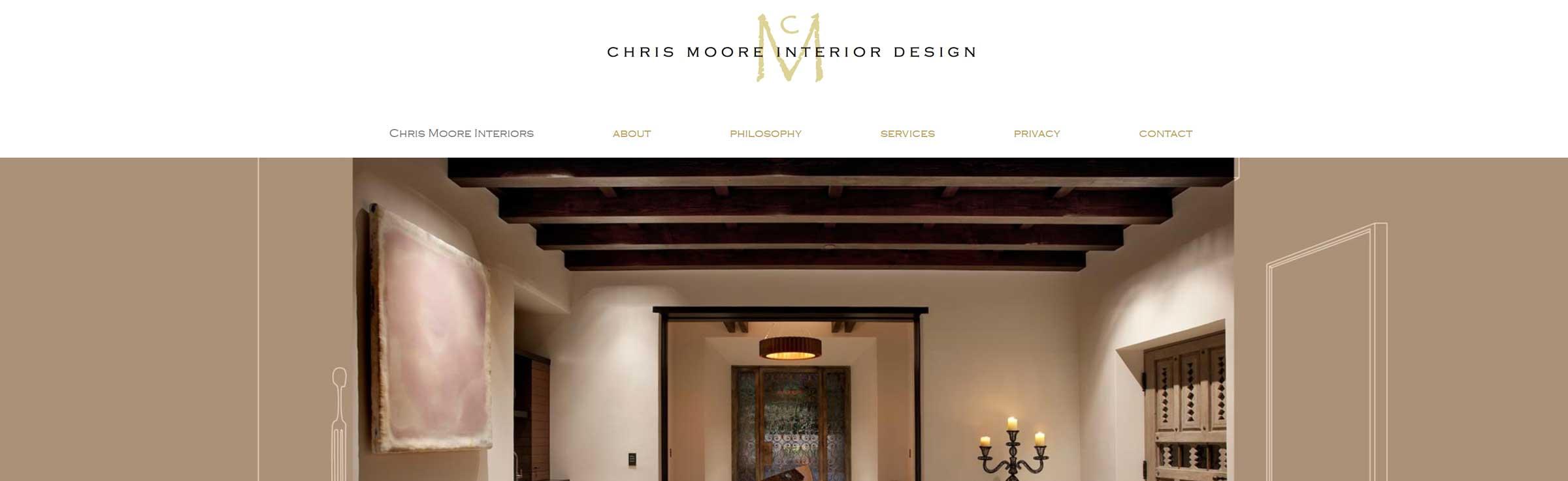 Chris Moore Interiors banner