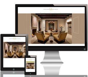 Chris Moore Interiors website responsive