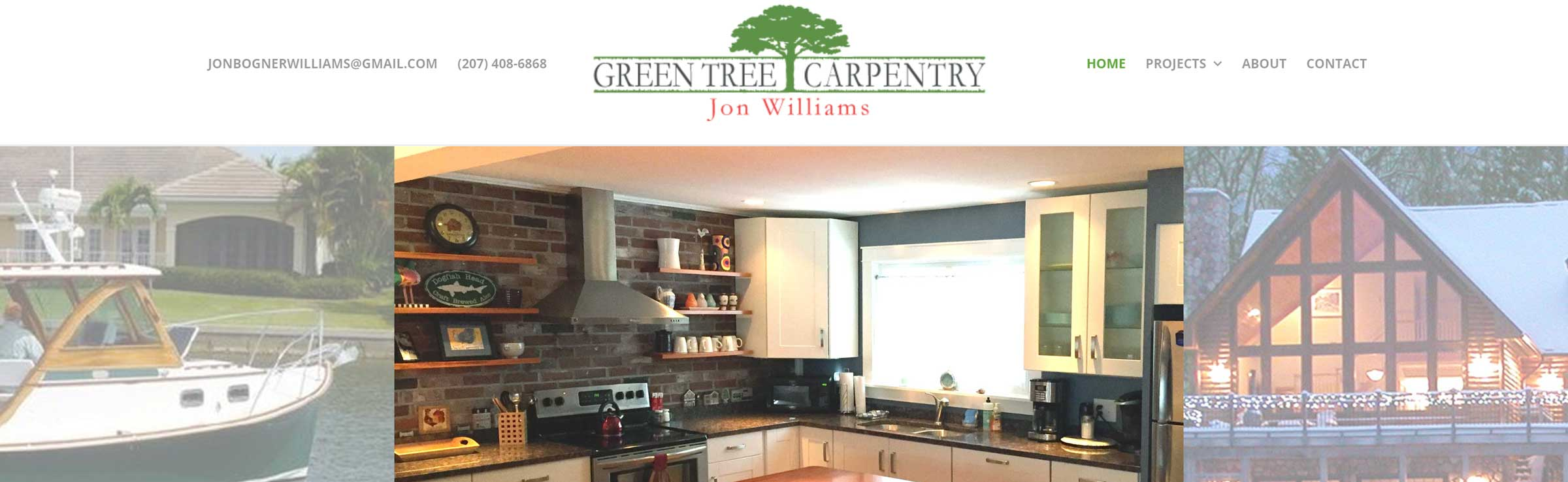 Green Tree Carpentry banner