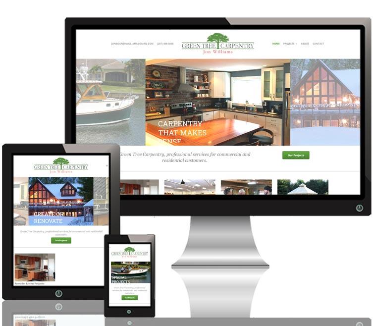Green Tree Carpentry responsive